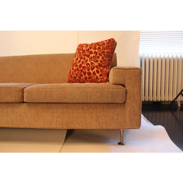 Contemporary Mid-Century Modern Style Sofa For Sale - Image 4 of 7