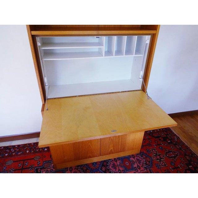 Cado 1970s Danish Modern Teak Secretary Desk For Sale - Image 4 of 10