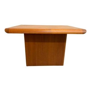 Danish Modern Teak Side Table For Sale