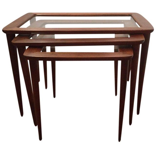 Ico Parisi Italian Nesting Tables - Set of 3 For Sale