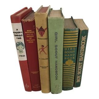 Vintage Children's Books - Set of 6 For Sale