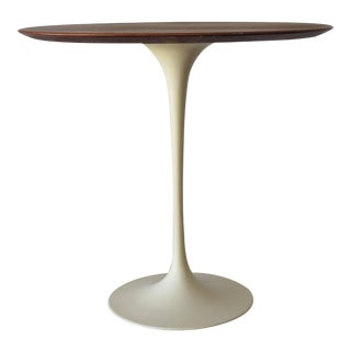 Saarinen Knoll Elliptical Table Walnut For Sale