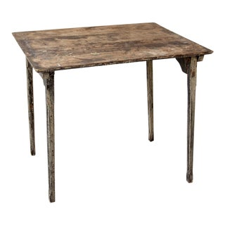 Antique Primitive Folding Table