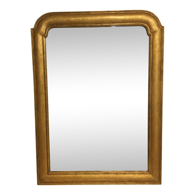 Custom Made Rose Tarlow 22k Gold Mirror - Image 1 of 6