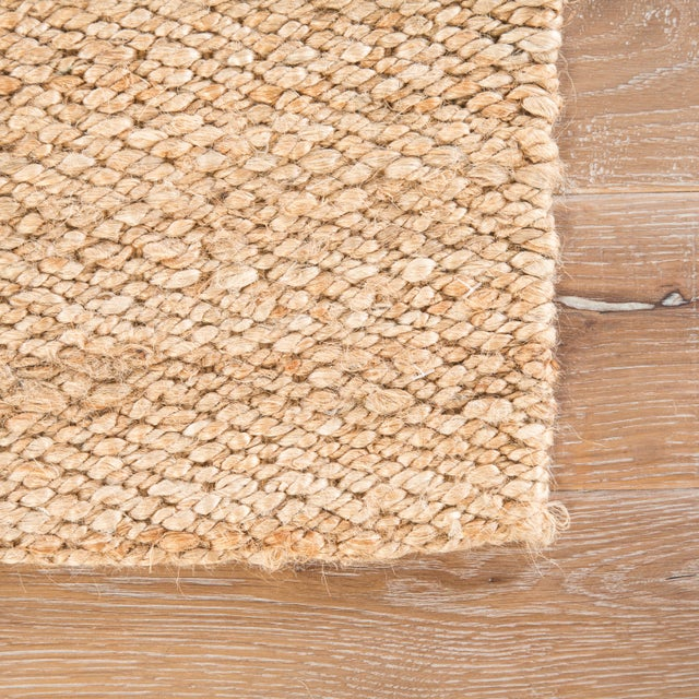 Contemporary Jaipur Living Hutton Natural Solid Beige Area Rug - 5' X 8' For Sale - Image 3 of 6