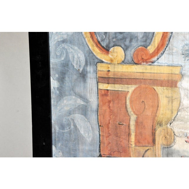 18th Century French Chateau Banner For Sale - Image 4 of 13