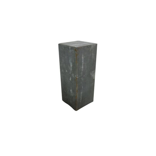 1920s Zinc Geometric Forms - Set of Four For Sale In Seattle - Image 6 of 10