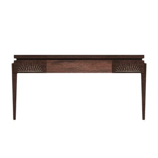 Philippe Writing Desk (Stained Walnut) For Sale