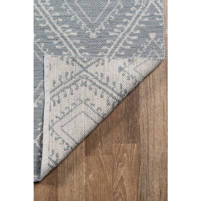 """2010s Erin Gates by Momeni Easton Pleasant Grey Indoor/Outdoor Hand Woven Area Rug - 5' X 7'6"""" For Sale - Image 5 of 7"""
