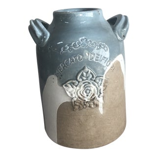 New Decorator Terra Cotta Vase For Sale