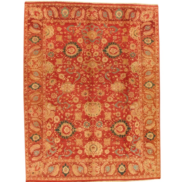 "Pasargad Agra Collection Rug - 9' X 11'8"" - Image 1 of 3"