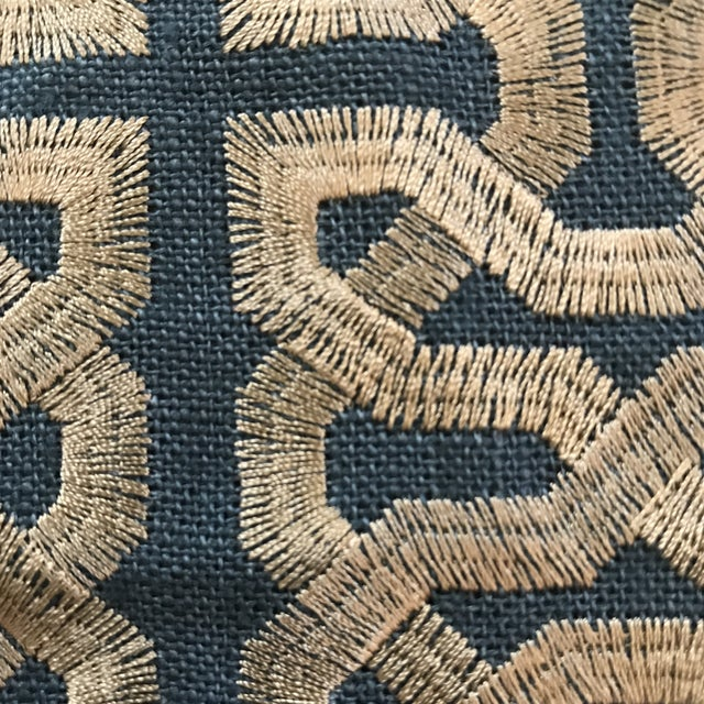 Kravet Couture Barbara Berry Ceylon Key South Seas Fabric - 12 Yards For Sale In Raleigh - Image 6 of 7