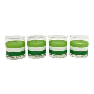 Georges Briard Rocks Glasses, Set of 4 For Sale