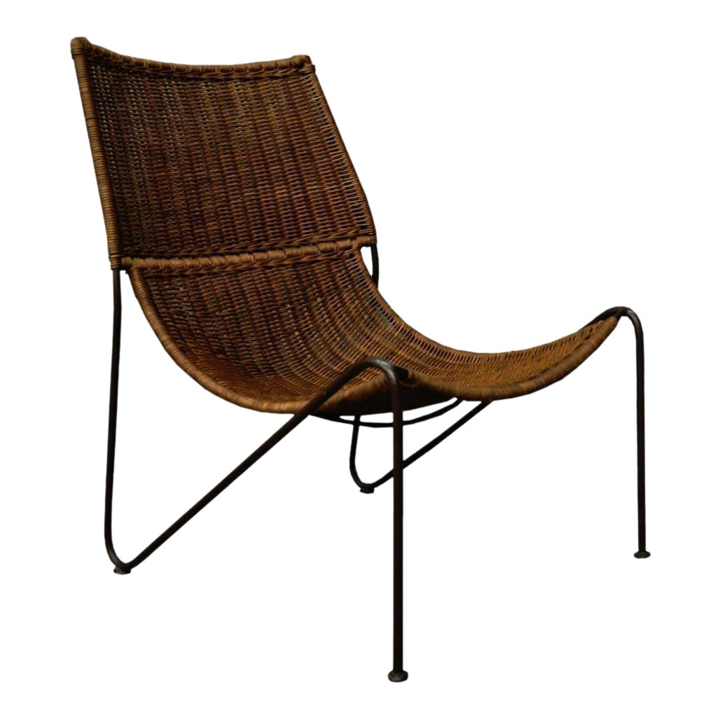 Swell Frederick Weinberg Wicker Iron Set Andrewgaddart Wooden Chair Designs For Living Room Andrewgaddartcom