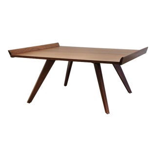 George Nakashima for Knoll Splay-Leg Coffee Table For Sale