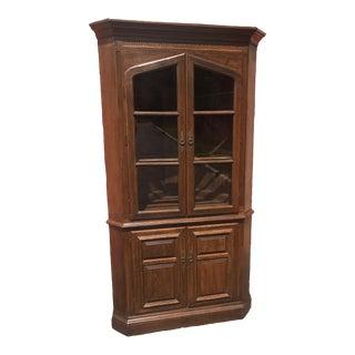 Ethan Allen Royal Charter Corner Cabinet