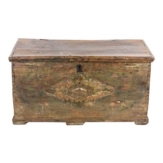 Antique Turkish Dowry Chest For Sale