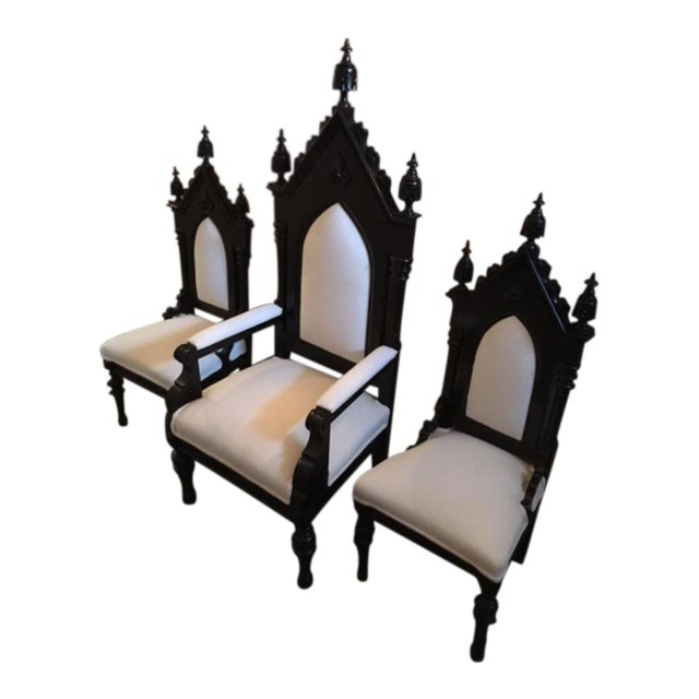 King, Queen & Princess Chairs - Set of 3 For Sale