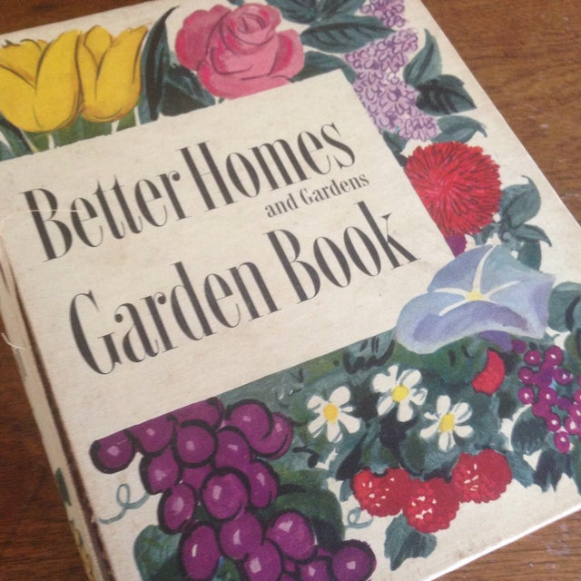 1951 Mid-Century Decorative Garden Book With Great Cover - Image 11 of 11