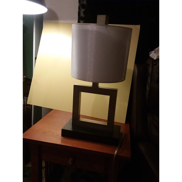 The only modern table lamp Ive kept in my inventory in a couple of years. Why well it's built sturdy, I like the...