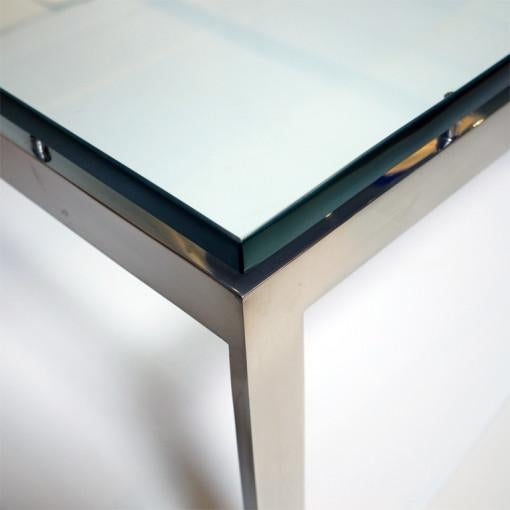 Modern Square Coffee Table by John Vesey For Sale - Image 3 of 3