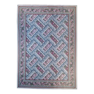 """Pasargad Aubusson Hand Woven Wool Rug - 8' 9"""" X 12' 2"""""""