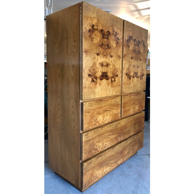 Altavista Lane Burl Wood Cabinet by Lane Altavista For Sale - Image 4 of 7