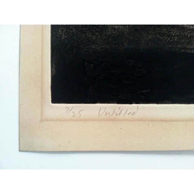 1960s Modernist Abstract Print - Image 6 of 7