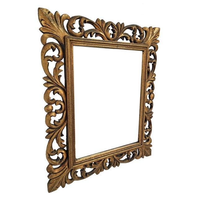 Italian Carved Wood & Gilt Mirror - Image 3 of 7