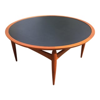 Danish Teak Finn Juhl Style Reversible Coffee Table