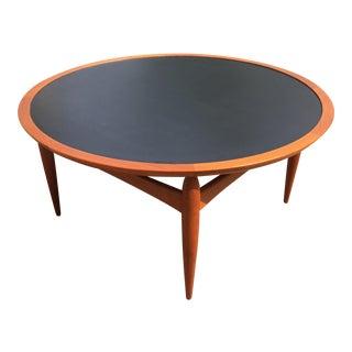Danish Teak Finn Juhl Style Reversible Coffee Table For Sale