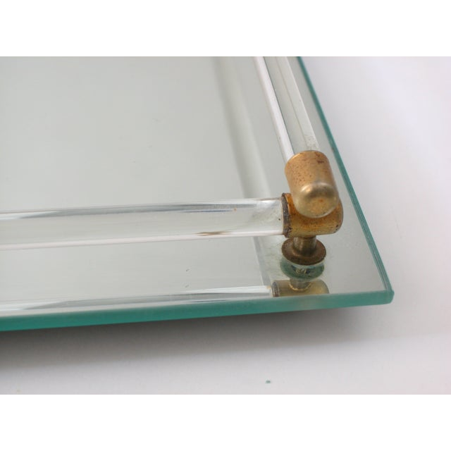 Glass Mirrored Vanity Tray - Image 5 of 9