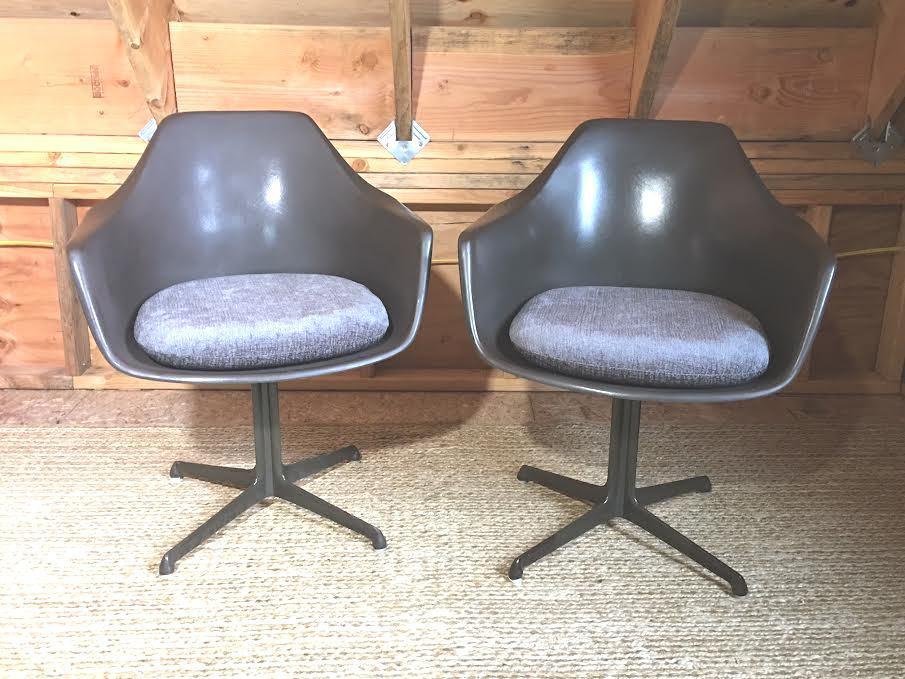 Mid Century Vintage Burke Tulip Chairs   Set Of 8   Image 10 Of 11