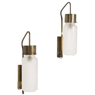 Bidone Wall Lamps by Luigi Caccia Dominioni