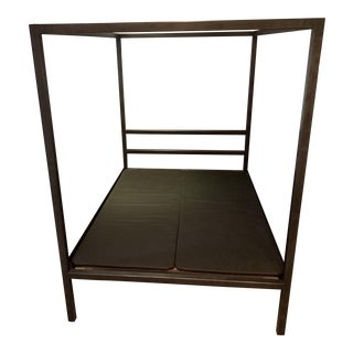 Room & Board Architectural Canopy Bed For Sale