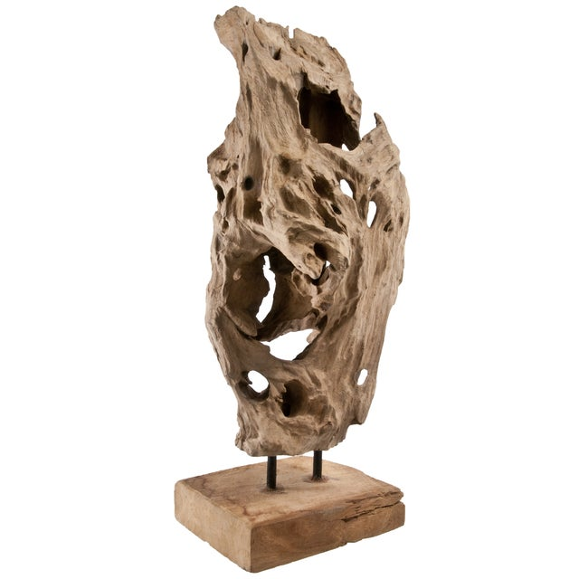 Driftwood Fragment on Stand - Image 2 of 4