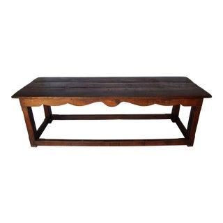 Antique English Farm Table