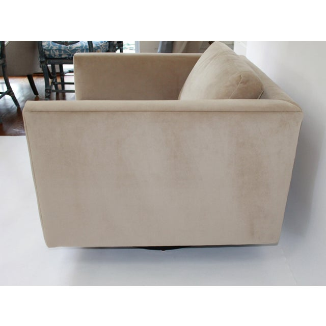 Harvey Probber Swivel Cube Chairs - a Pair For Sale In New York - Image 6 of 12