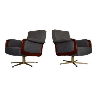 Danish Modern Lounge Chairs - a Pair For Sale