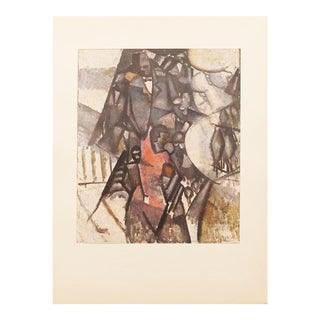 "1947 Fernand Léger, Original Period Lithograph ""The Circus"" For Sale"