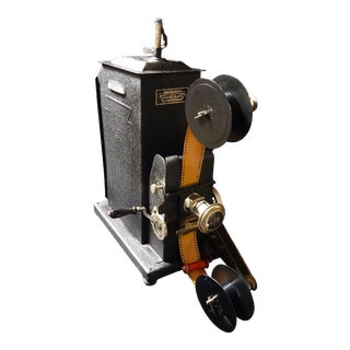 1920 Movie Graph 35mm Hand Crank Projector For Sale