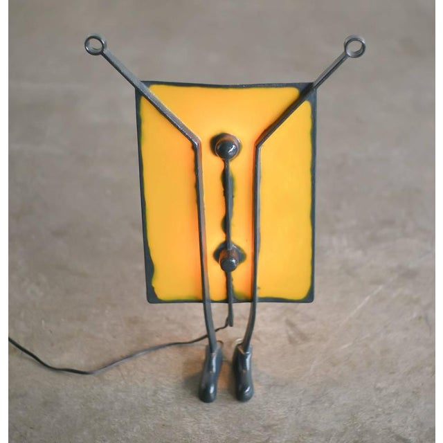 Contemporary Salvatore Table Lamp Designed in 1995 by Gaetano Pesce For Sale - Image 3 of 5