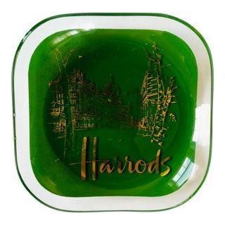 Vintage Harrods Advertising Trinket Dish For Sale