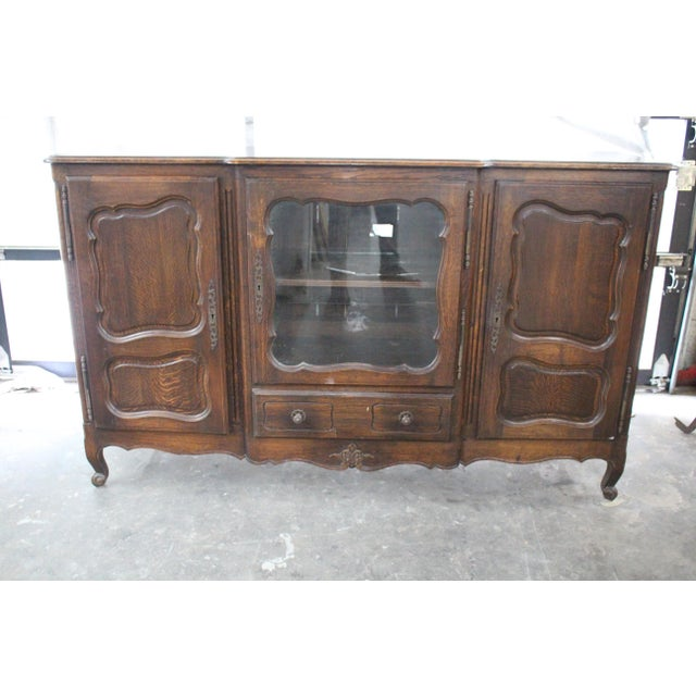19th Century French Country Oak Dessert Buffet For Sale In Atlanta - Image 6 of 7