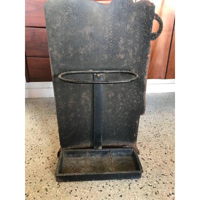 Metal Piero Fornasetti Umbrella Stand For Sale - Image 7 of 10