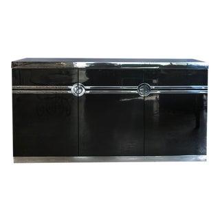 1970s Pierre Cardin 3 Door Credenza For Sale