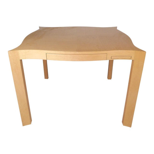 Mid-Century Modern Lacquered Game Table For Sale