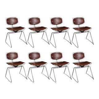 1970s Beaubourg Chairs Designed by Michel Cadestin and Georges Laurent - Set of 8 For Sale