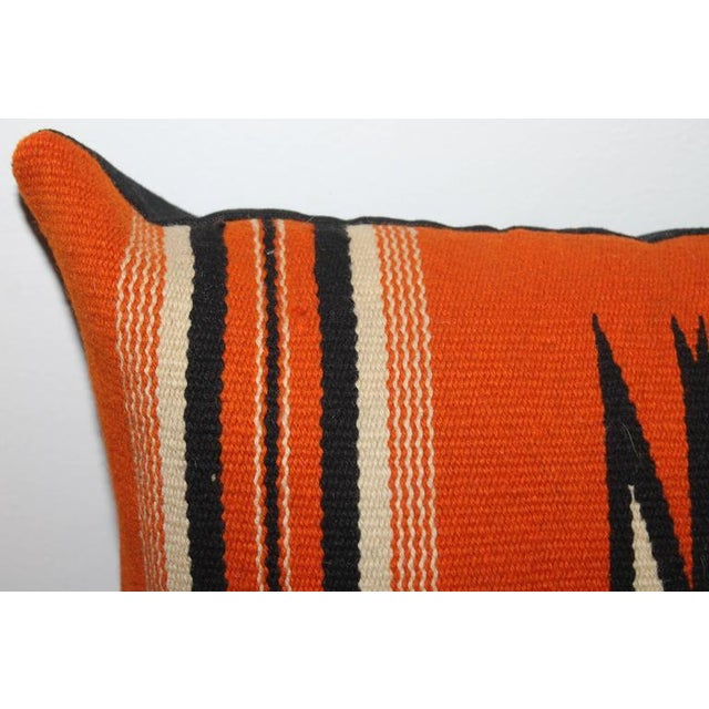 Rustic Fantastic Chimayo Weaving Pillow For Sale - Image 3 of 6