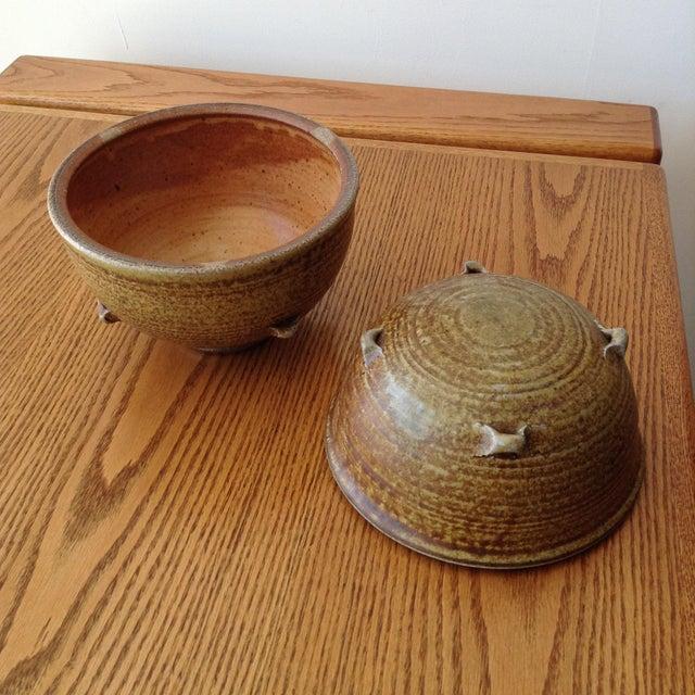 1960s Vintage 1960s Ceramic Vessel For Sale - Image 5 of 9